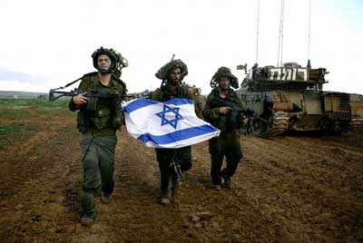 israel-troop